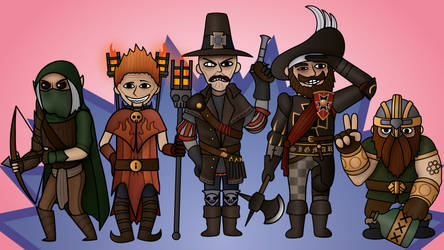 Warhammer: Vermintide 2 - The Gang by DARGONZZ
