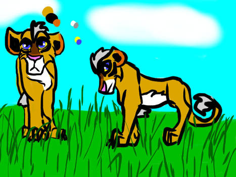 contest lion