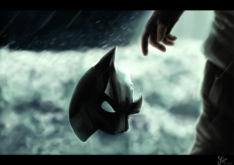 .: The Dark Knight Rises - the falling :. by SaphiraJK