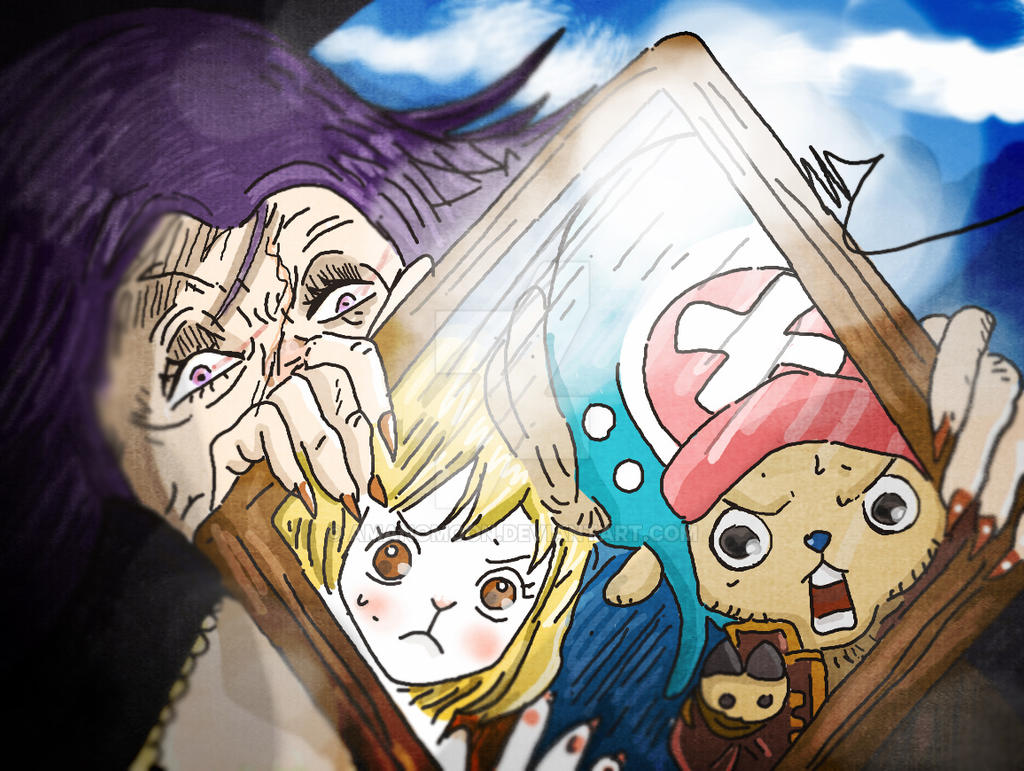 One Piece Chapter 836 The Vivre Card Lola Gave By Amanomoon On