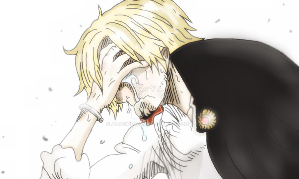 One Piece Chapter 844 Sanji Vinsmoke Cry Sad By Amanomoon On Deviantart