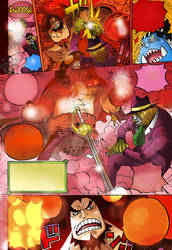 One Piece Chapter 864+ Charlotte Oven Pedro !