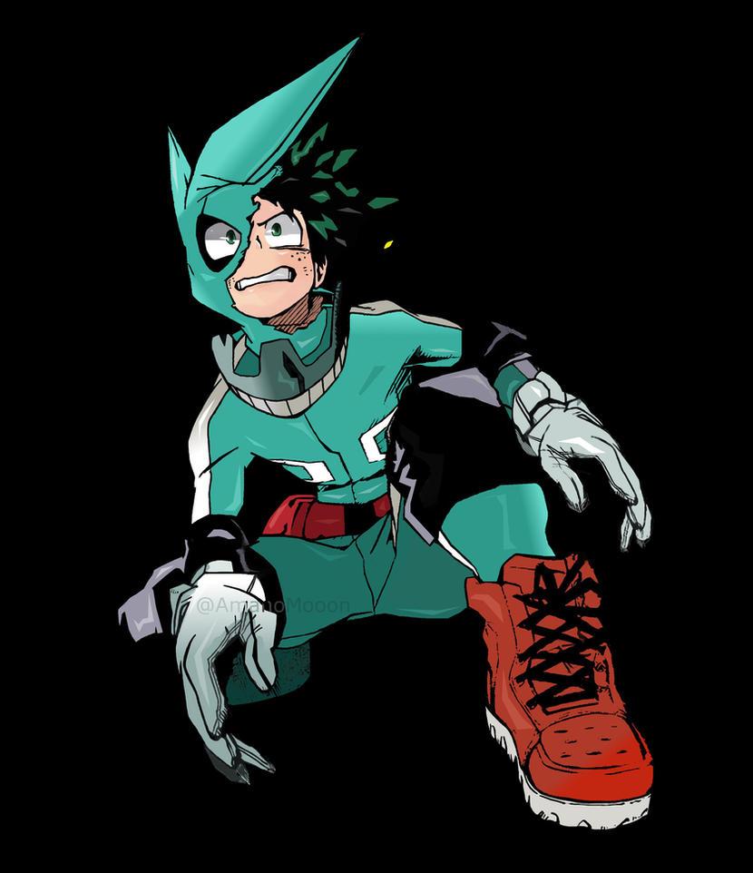 My Hero Academia Boku No Hero Izuku Deku COLORS By