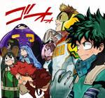 My hero Academia Boku no hero Colors Manga Anime