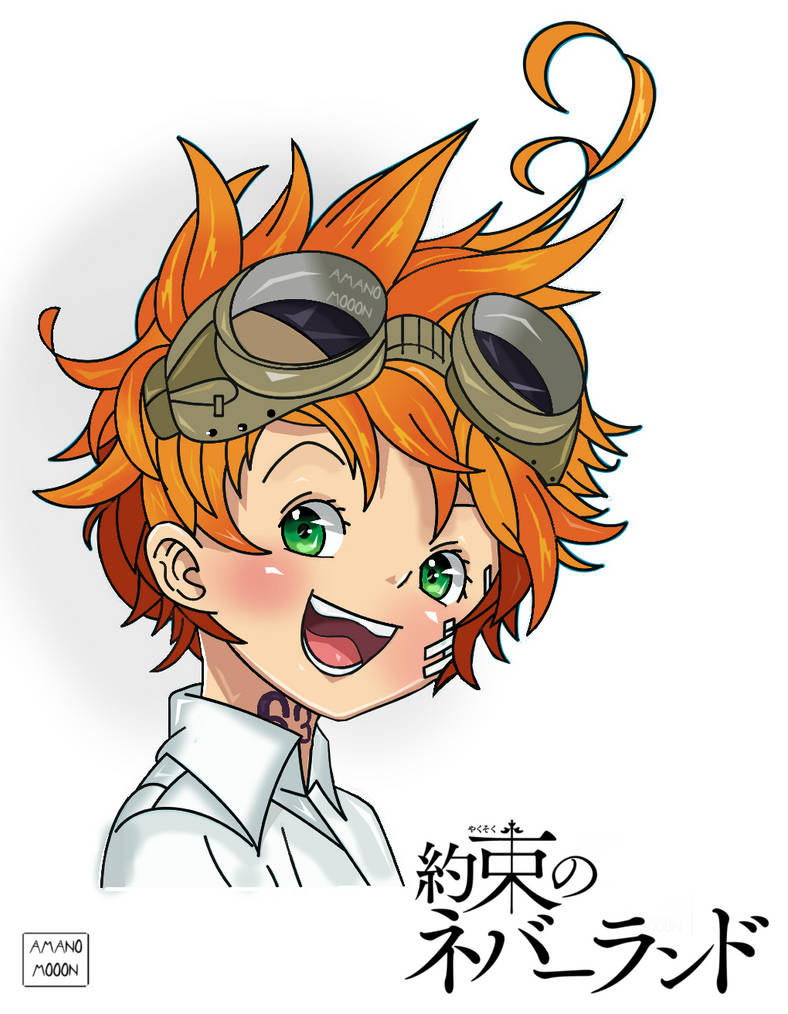 The Promised Neverland Emma Manga Colors Anime By Amanomoon On