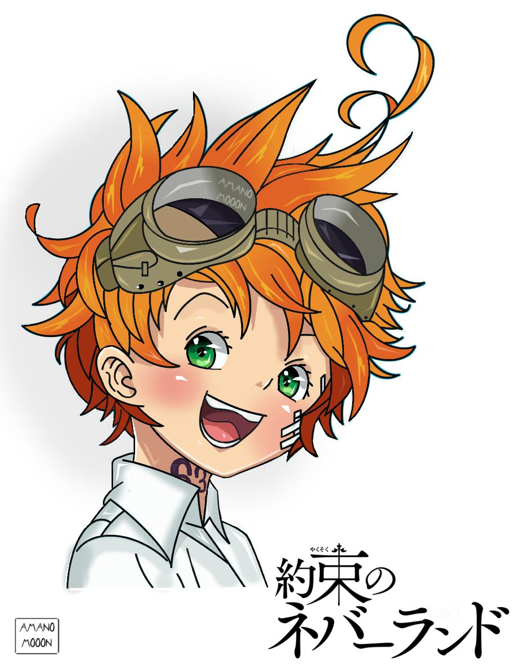The Promised Neverland Emma Manga Colors Anime by Amanomoon
