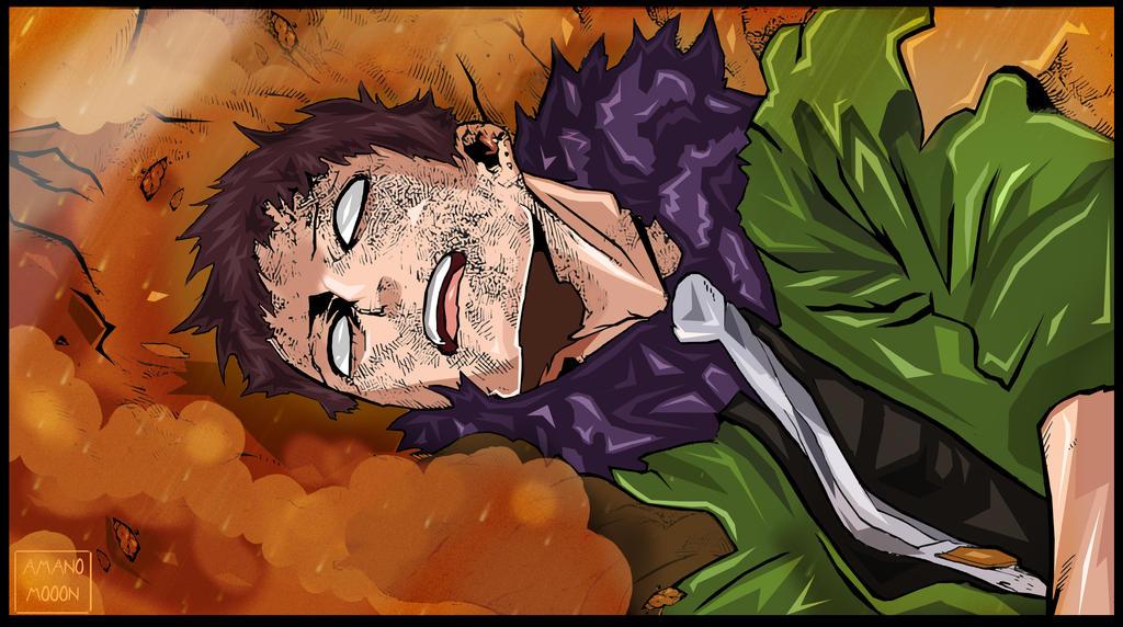 My hero Academia Boku no hero 159 Kai Chisaki KO by Amanomoon