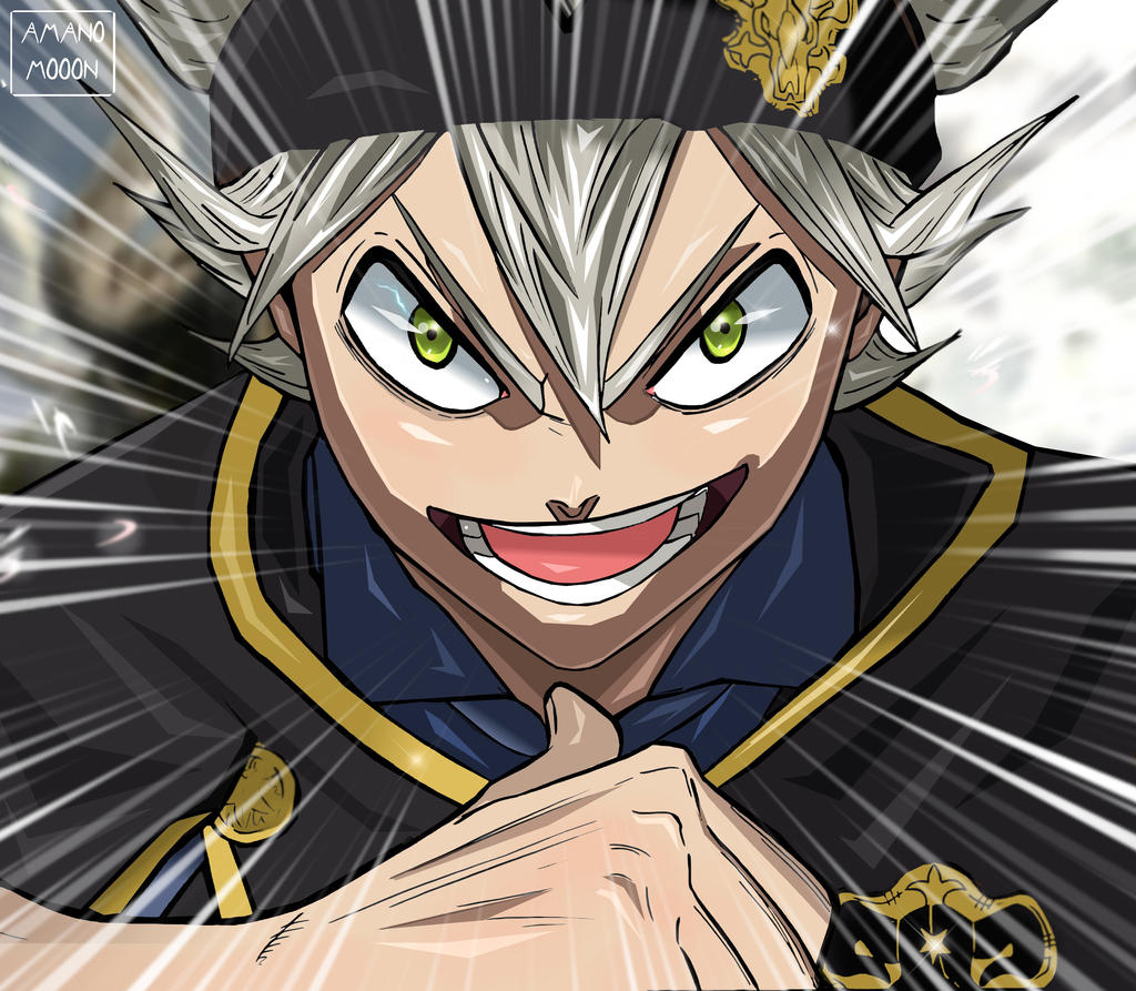 Black Clover Chapter 134 Dream Asta Colors Anime by Amanomoon
