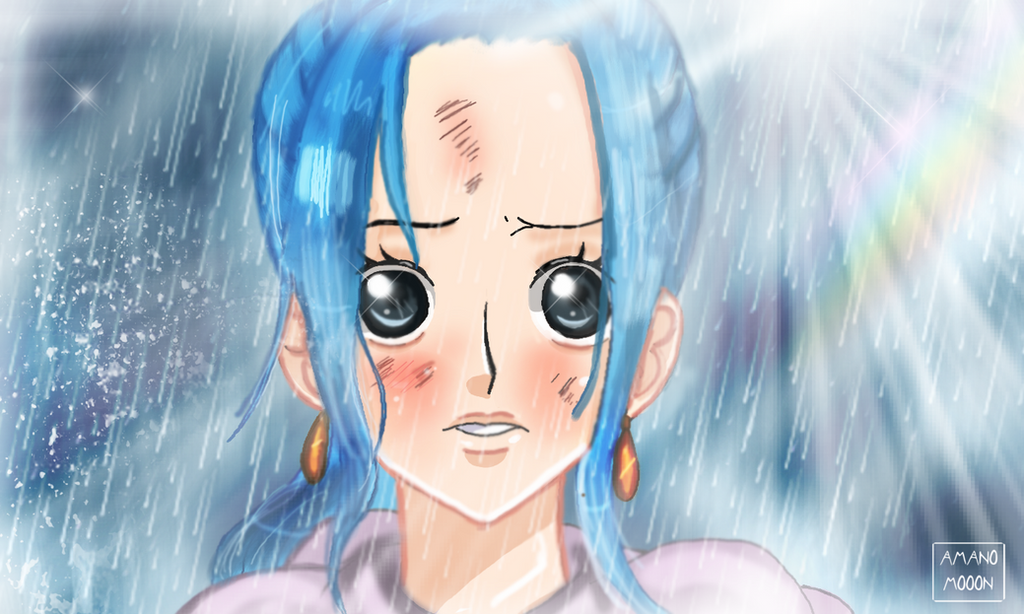 One Piece Nefeltari Vivi Painting Colors by Amanomoon
