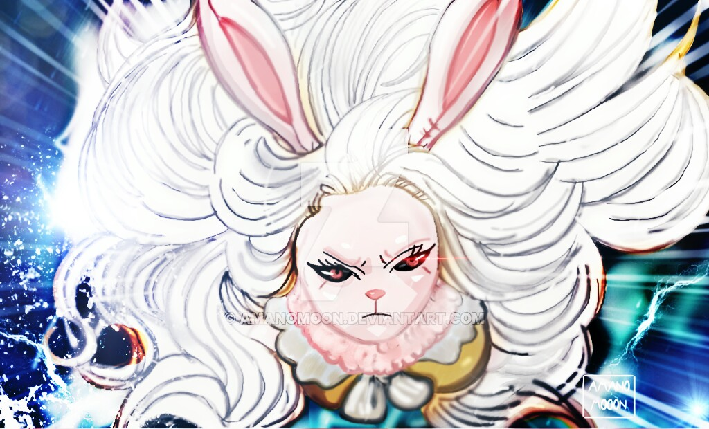 One Piece 888 Carrot Transformation White Hair Moo by Amanomoon