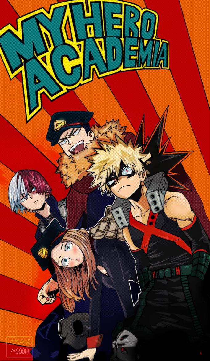 My hero Academia Boku no hero Covers 165 COLORS by Amanomoon