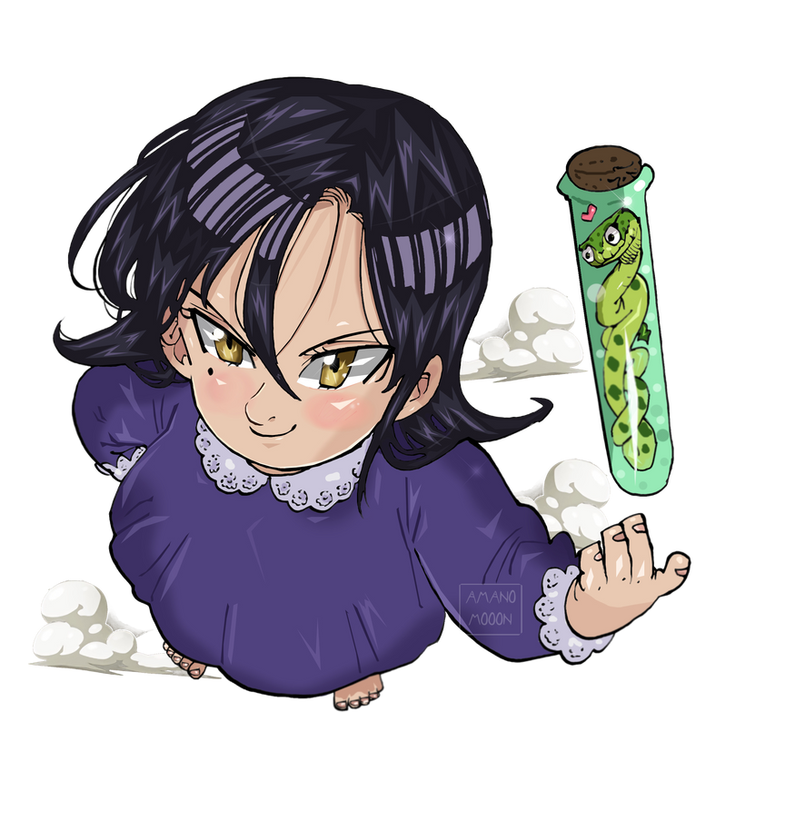 Nanatsu no Taizai The Seven Deadly Sins 248 MERLIN by Amanomoon