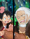 One Piece Chapter 894 GEAR 4 SNAKE MAN Rayleigh
