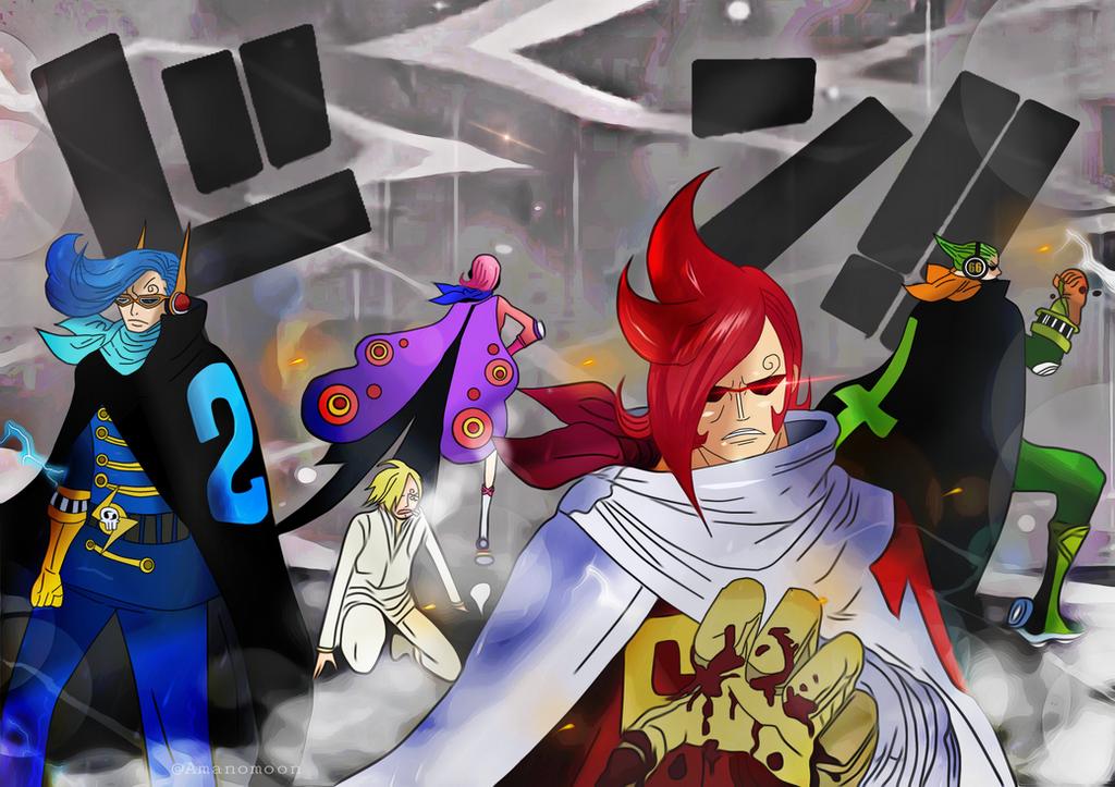 One Piece 897 Germa 66 Vinsmoke is Back Colors by Amanomoon