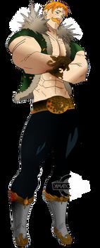 Nanatsu no Taizai The Seven Deadly Sins ESCANOR
