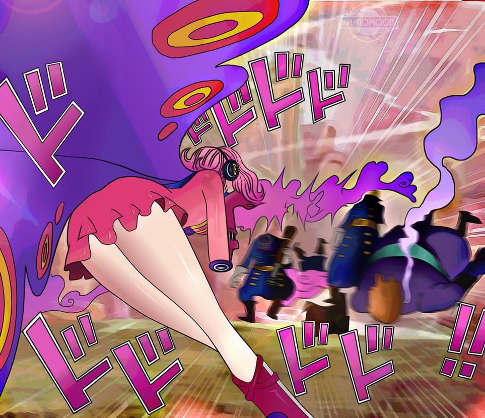 One Piece 898 Reiju vs Big Mom Pirates GERMA 66 CO by Amanomoon