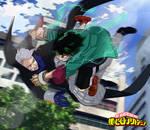 My hero Academia Boku no hero 176 Deku vs Gentle