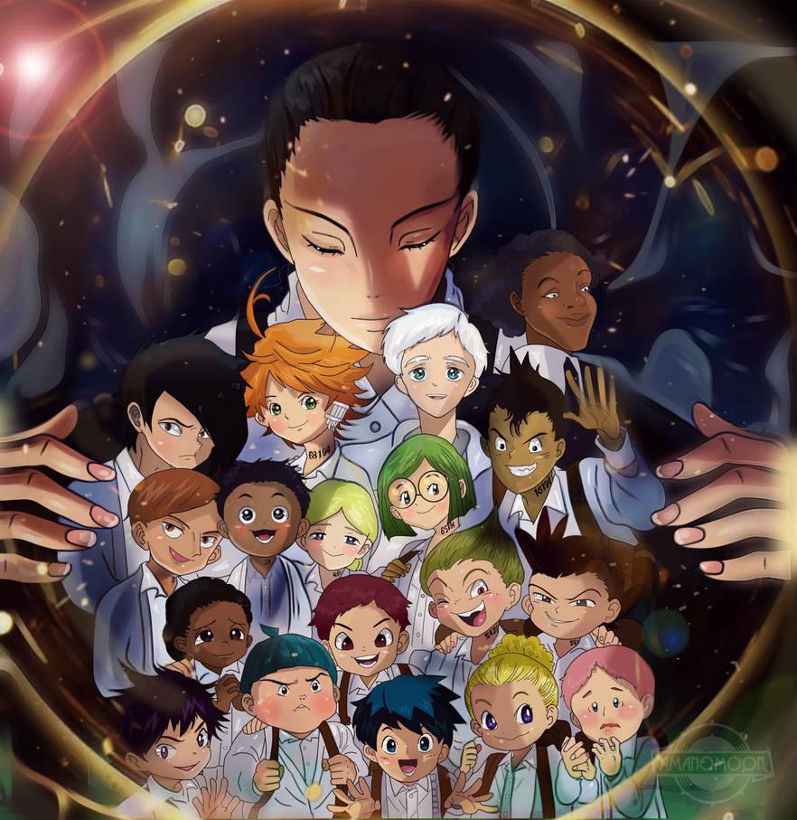 The promised neverland yakusoku no nervland anime by amanomoon
