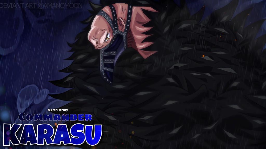 One Piece 904 Revolutionary Army Karasu Sabo Color by Amanomoon