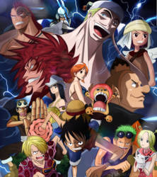 One Piece Episode of Skypiea Colors Anime Remaster by Amanomoon