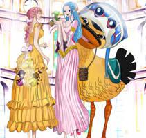 One Piece 906 HOLY LAND SECRET REBECCA VIVI COLORS by Amanomoon