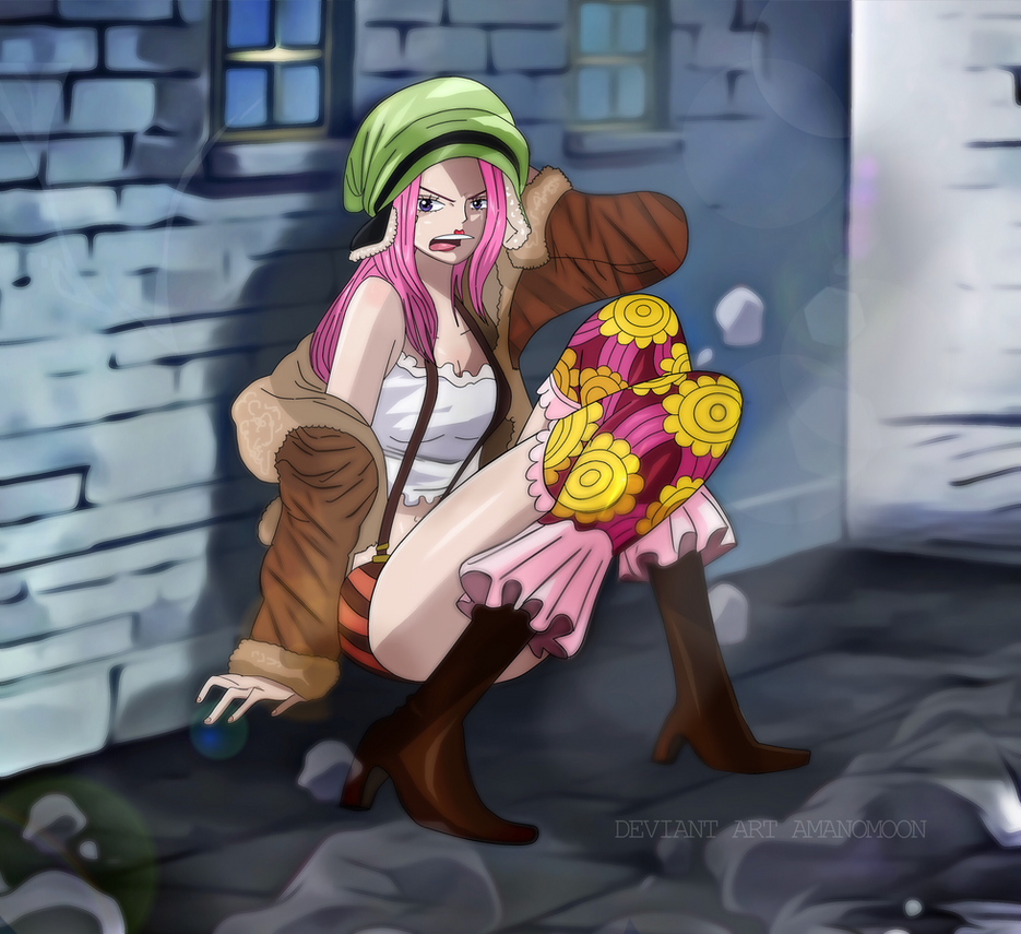 One Piece 908 Jewerly Bonney Sad Infiltrate in by Amanomoon