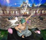 One Piece 909 Zoro Cut Zorojirou Wano Kuni Seppuku