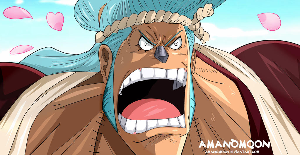 One Piece Chapter 909 Franosuke Franky Wano Anime by Amanomoon