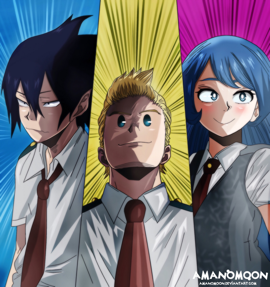 My Hero Academia Big 3 Wallpaper Free Download Wallpaper