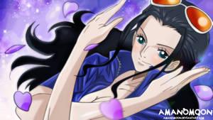 Nico Robin Mil Fleur Anime 2018 Colors Manga Cute by Amanomoon