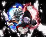 Dragon Ball Super Goku Ultra instinct Aura Jiren by Amanomoon