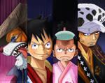 One Piece 920 Luffy go to Onigashima Kaido Island