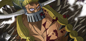 One Piece Chapter 921 Okanban Jack Vs Shutenmaru  by Amanomoon