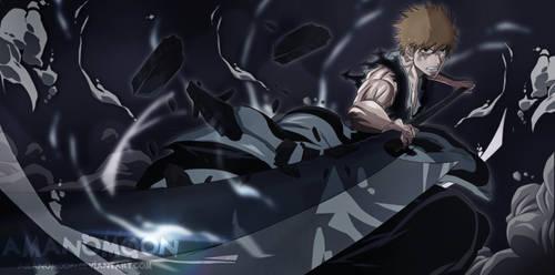 Bleach Manga 684 Ending Ichigo vs Yhwach Sword