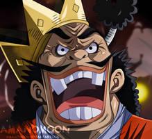 One Piece Chapter 929 Orochi Kurozumi Anime Colors by Amanomoon