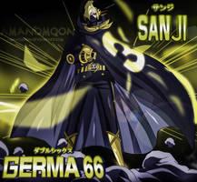 One Piece 931 Sanji  Raid Suit Transformation Scan by Amanomoon