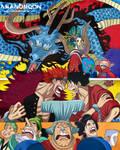 One Piece Volume 92 Cover Arrwork Wano Kuni Toei