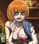 One Piece Nami Cat60 Year Old Age Fanart Sexy