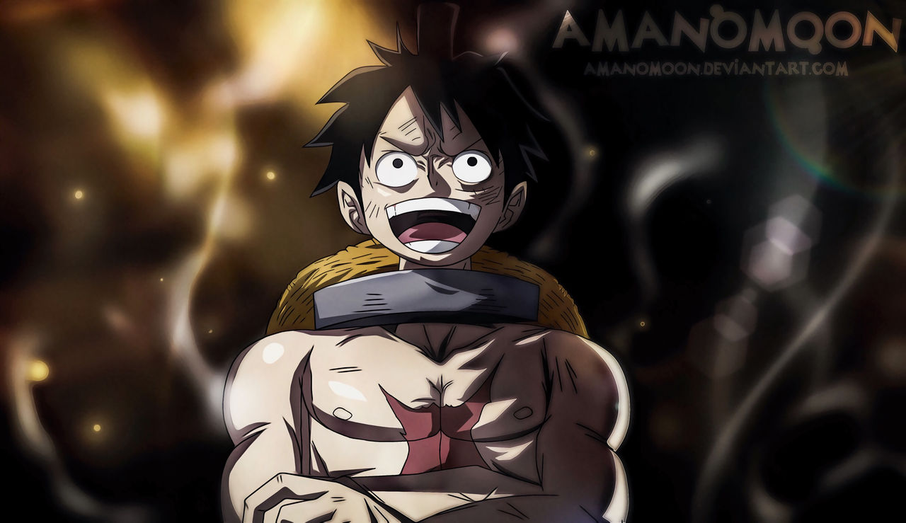 One Piece Chapter 936 Luffy vs Queen Death Match