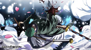 One Piece 937 Zoro Jirou vs Kamazou Onigiri Fire