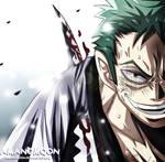 One Piece Chapter 937 Zoro Jiro Kamazou Zoro Haki