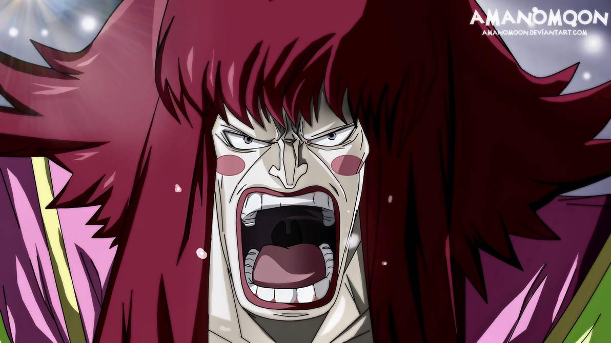 One Piece Chapter 938 Oden Kanjuro Shinobu crying  by Amanomoon
