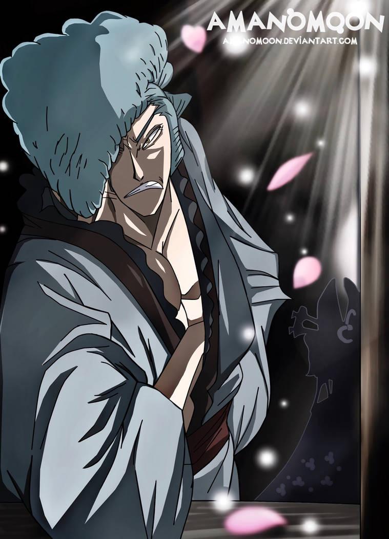 One Piece Kurozumi Kyoshiro Samourai Wano Kuni  by Amanomoon