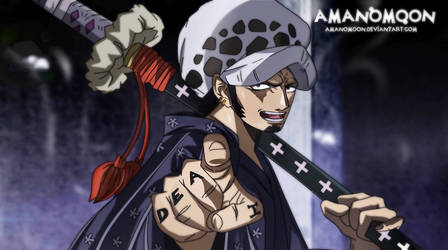 One Piece Chapter 940 Trafalgar Law Rebellion Wano by Amanomoon