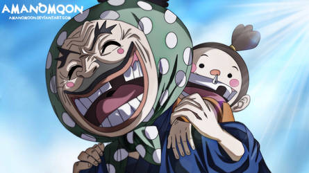 One Piece Chapter 940 Tonoyasu Ebisu Toko father  by Amanomoon