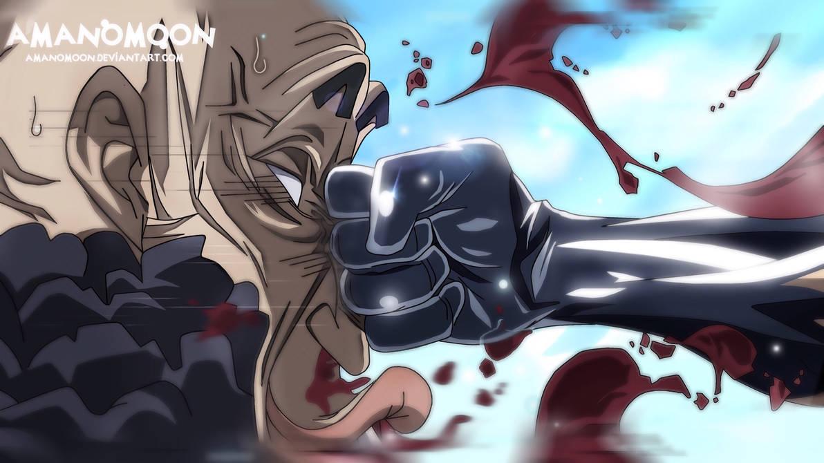 One Piece Chap 940 Luffy Hyogoro Haki of Armament  by Amanomoon