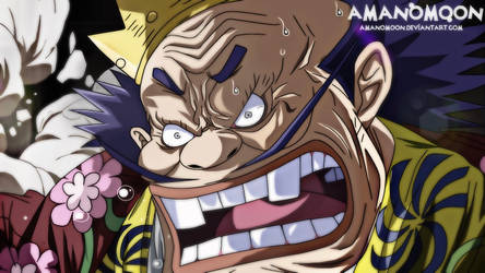 One Piece Chapter 941 Kurozumi Orochi Angry Yasu  by Amanomoon
