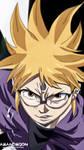 Samourai 8 Tales of Hachimaru Anime Naruto New  by Amanomoon