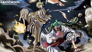 One Piece Chapter 943 ZoroJuro Sangoro Saves Toko