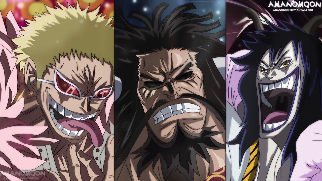 One Piece Chapter 943 Smiles Kaido Doflamingo Name by Amanomoon on DeviantArt